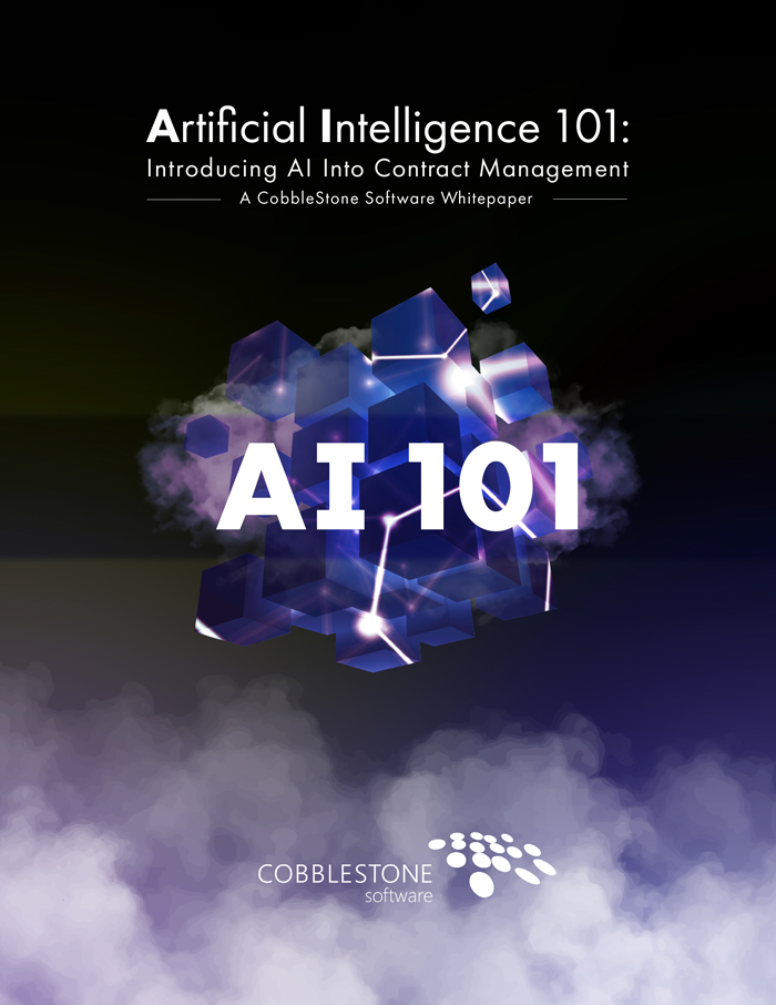 Artificial Intelligence 101: Introducing AI into Contract Management
